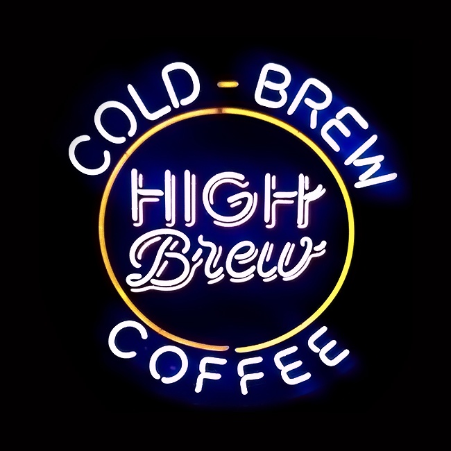 Cold Brew Coffee Sign