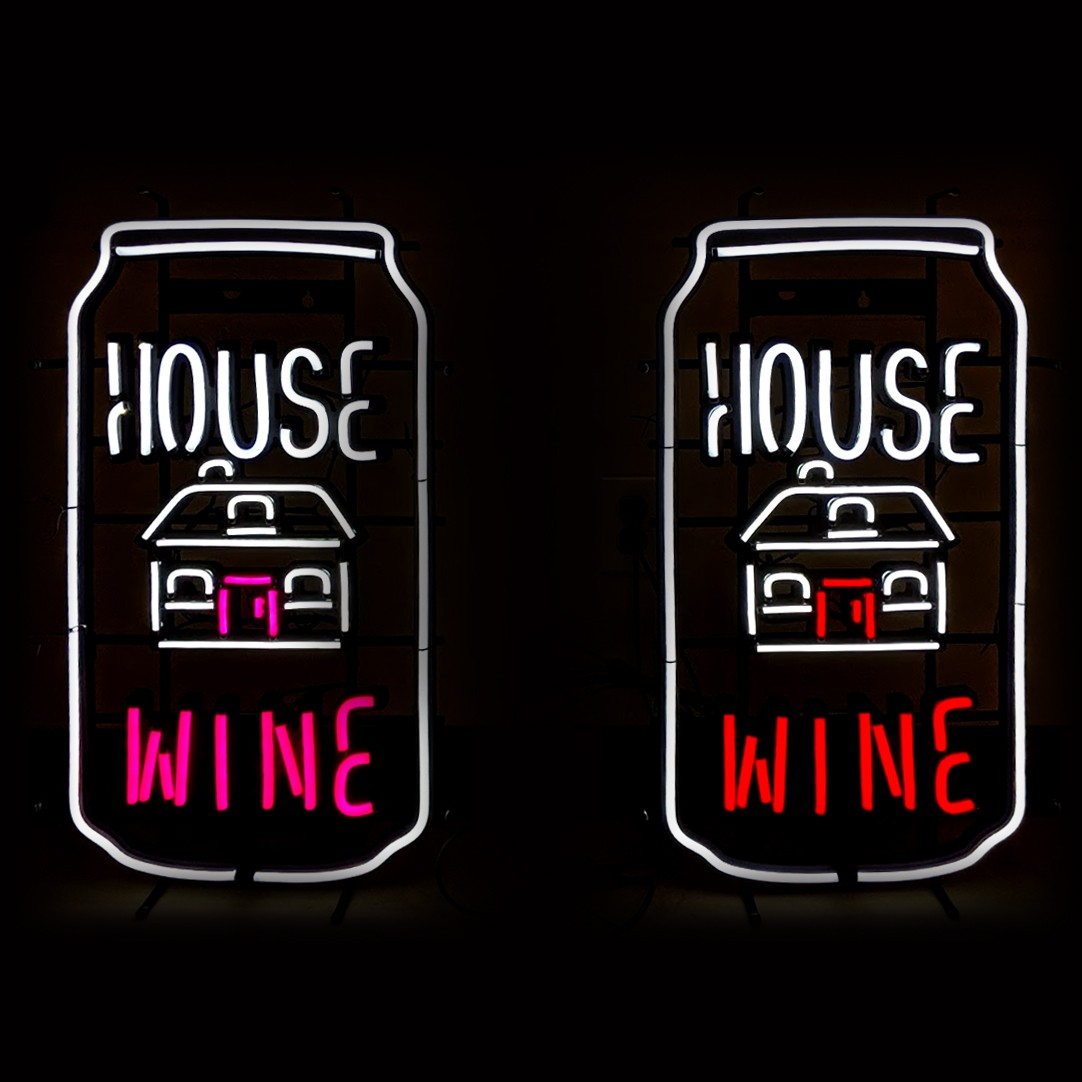 House Wine Sign