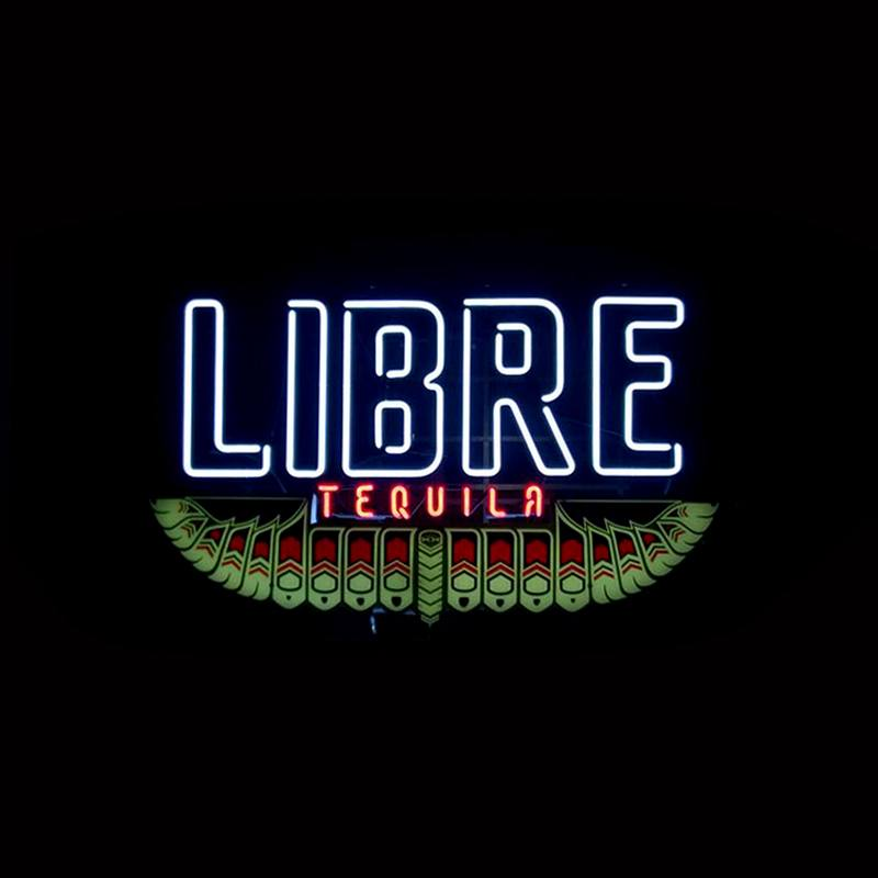 Libre Tequila Sign