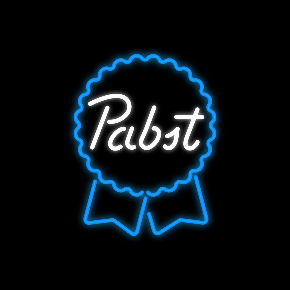 Pabst Retro Sign